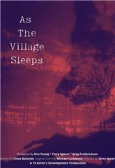As the Village Sleeps (2021) poster
