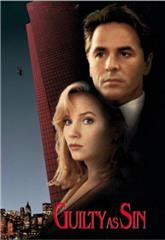 Guilty as Sin (1993) web poster