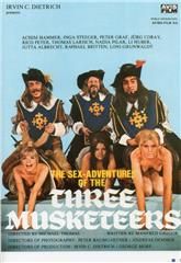 The Sex Adventures of the Three Musketeers (1971) bluray poster