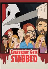 Everybody Gets Stabbed (2020) 1080p Poster
