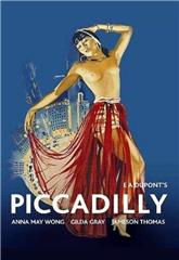 Piccadilly (1929) poster