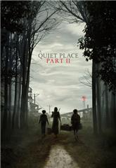 A Quiet Place Part II (2020) bluray Poster