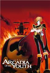 Space Pirate Captain Harlock: Arcadia of My Youth (1982) Poster