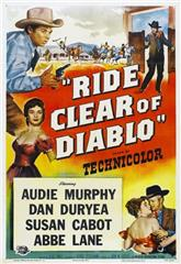 Ride Clear of Diablo (1954) 1080p Poster