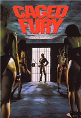 Caged Fury (1990) bluray Poster
