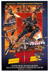 Wheels of Fire (1985) bluray Poster