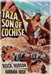 Taza, Son of Cochise (1954) bluray Poster