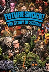 Future Shock! The Story of 2000AD (2014) bluray Poster