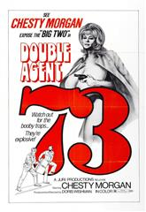 Double Agent 73 (1974) bluray poster