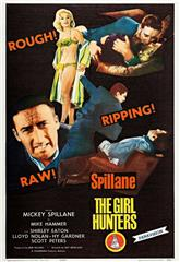 The Girl Hunters (1963) bluray poster
