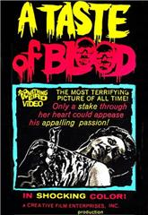 A Taste of Blood (1967) bluray poster