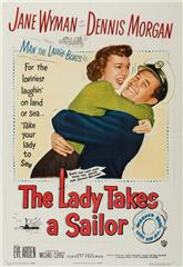 The Lady Takes a Sailor (1949) 1080p poster