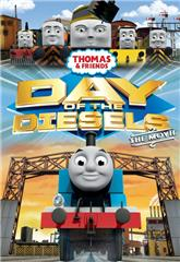 Thomas & Friends: Day of the Diesels (2011) bluray Poster