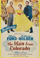The Man from Colorado (1948) Poster